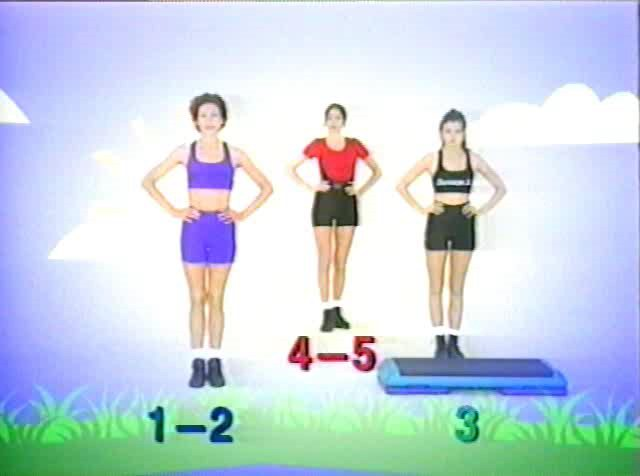 Аэробика для похудения в домашних условиях видео